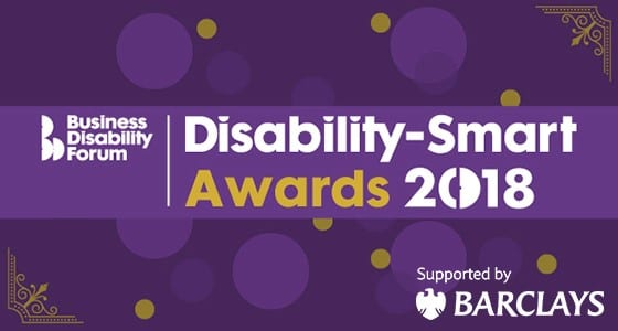 Logo for Disability Smart awards