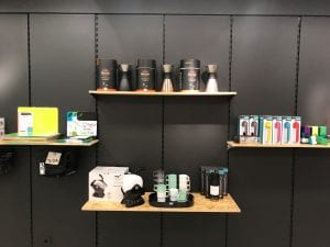UNIK Pop up shop with kettle
