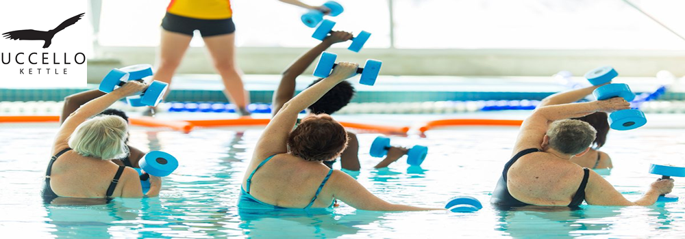 Image of water aerobics