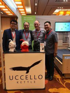 Image of Gary Uccello with partners at Ageing Asia