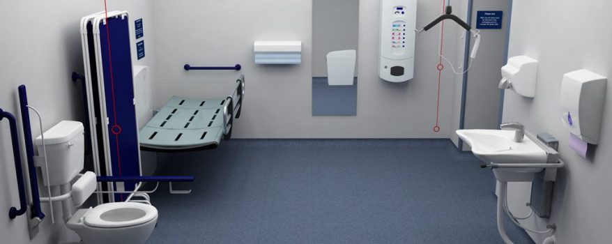 Image of fully accessible bathroom