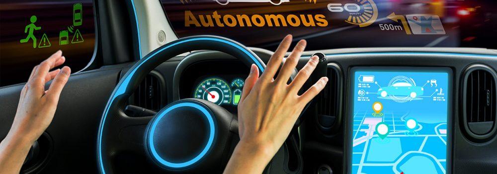 Image of autonomous car